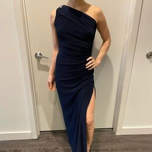 Ralph Lauren Navy Evening Dress